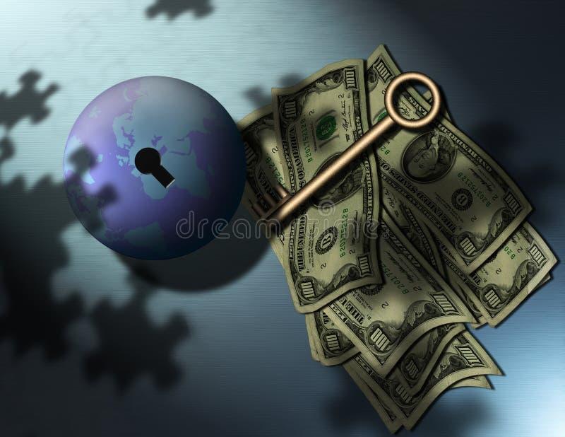 Download Gagnez l'argent illustration stock. Illustration du earth - 735608