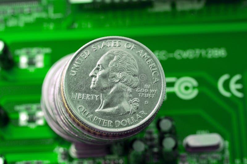 Download Gagnez l'argent photo stock. Image du detail, matériel - 8651034