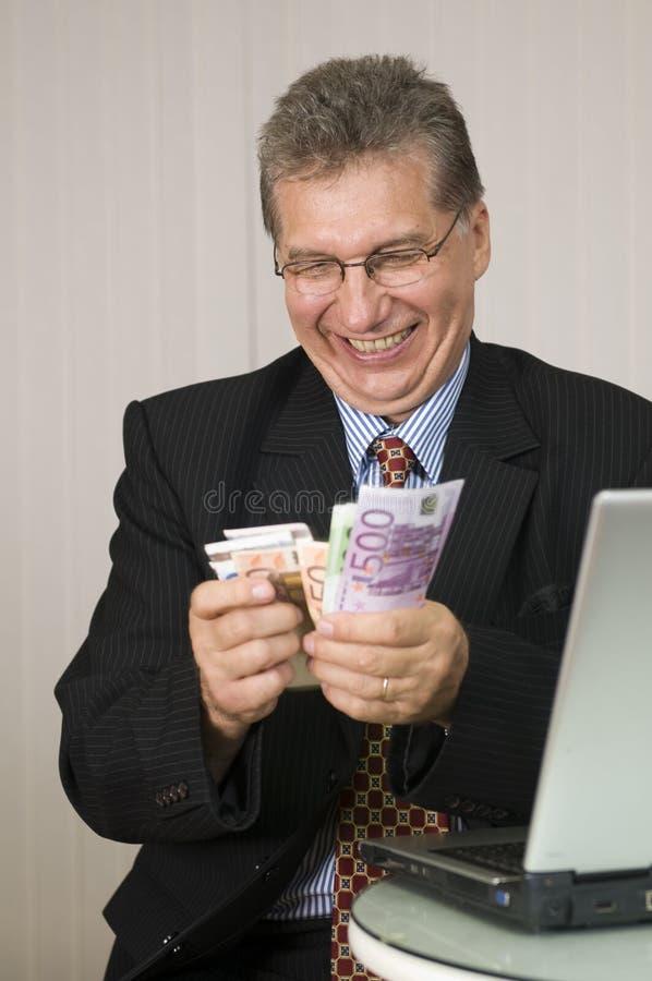 Gagnez l'argent avec l'ordinateur ! photos libres de droits