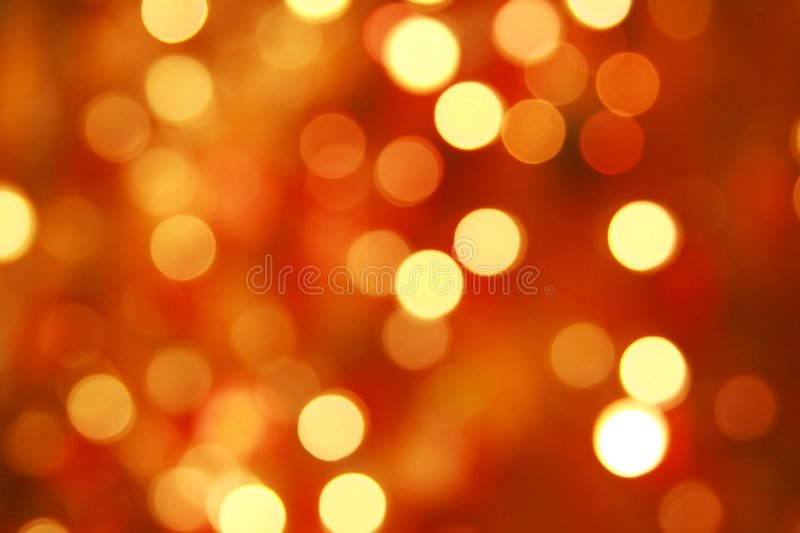 Gaily Of Color Christmas Light Stock Image