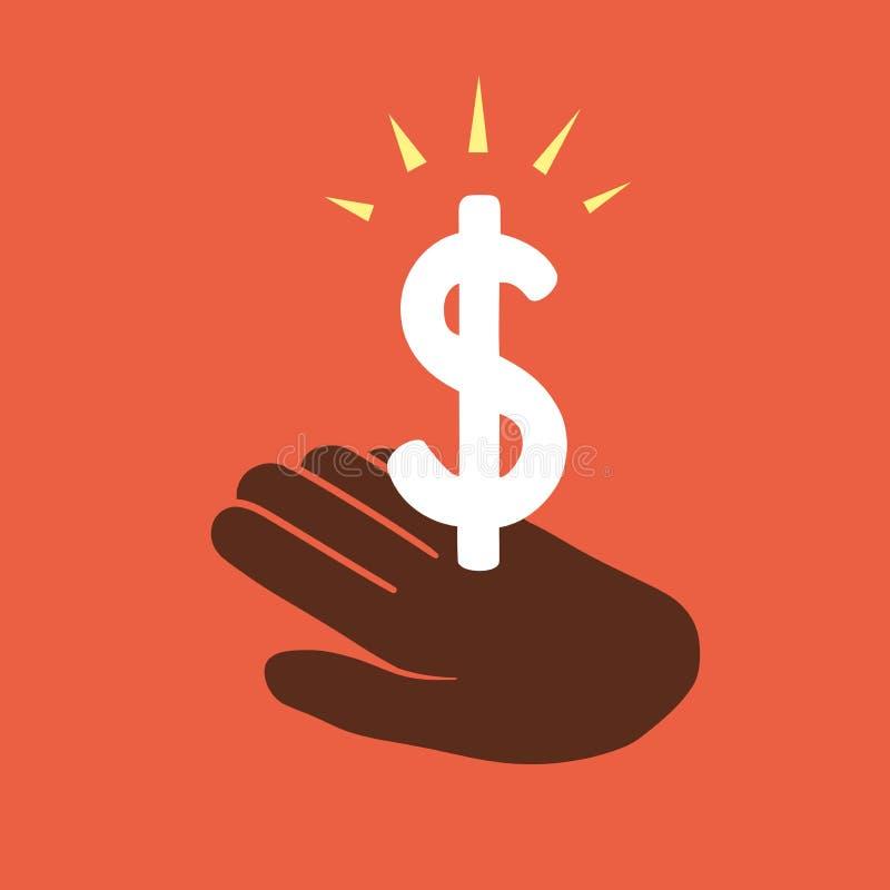 Gain money vector illustration