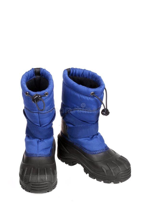 Gaines bleues de neige photo libre de droits