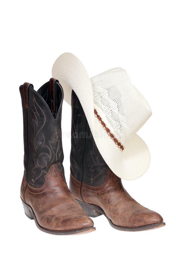 Gaines de cowboy avec le chapeau photos libres de droits