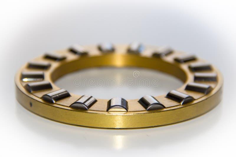 Gaiola de bronze do rolo de um rolamento de rolo da pressão imagem de stock royalty free