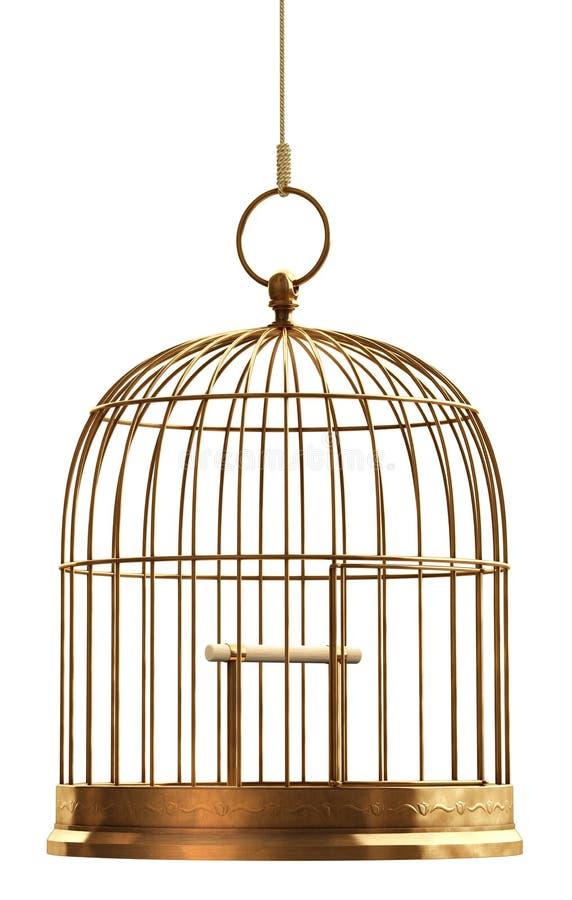 Gaiola de pássaro ilustração do vetor
