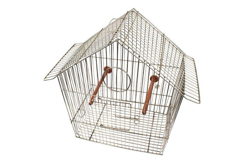 Gaiola de pássaro vazia fotografia de stock royalty free