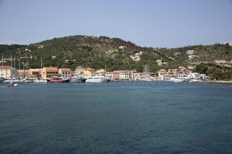 Download Gaios (Paxos, Greece) editorial photography. Image of island - 33471862