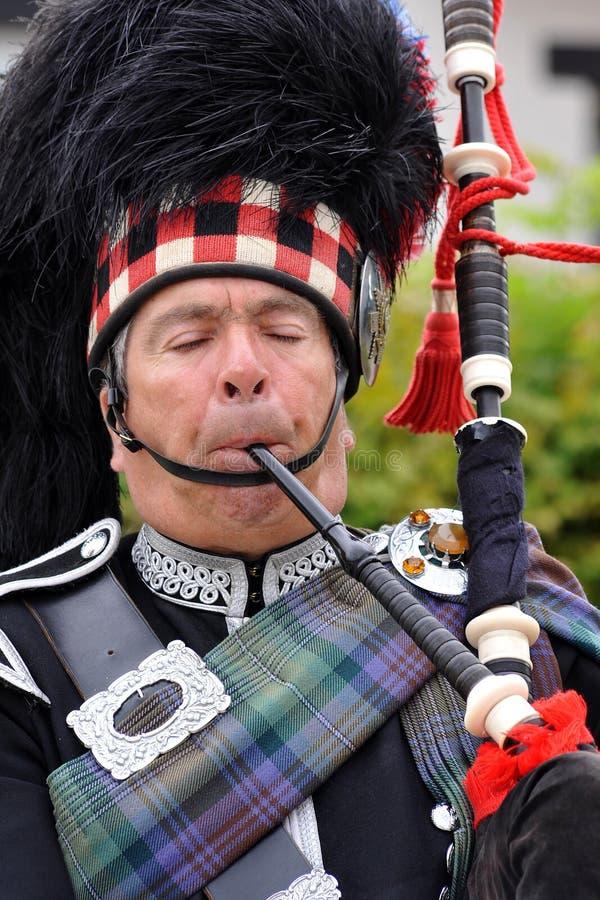 Gaitas escocesas imagen de archivo