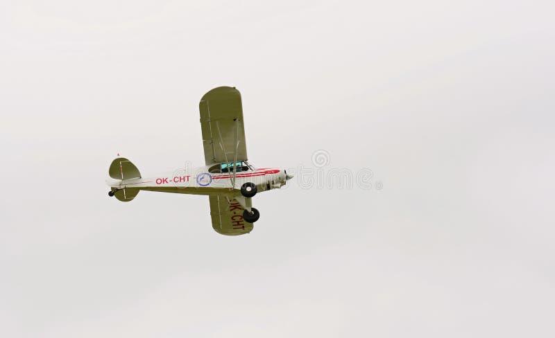 Gaitero PA-18-150 Cub estupendo fotografía de archivo libre de regalías