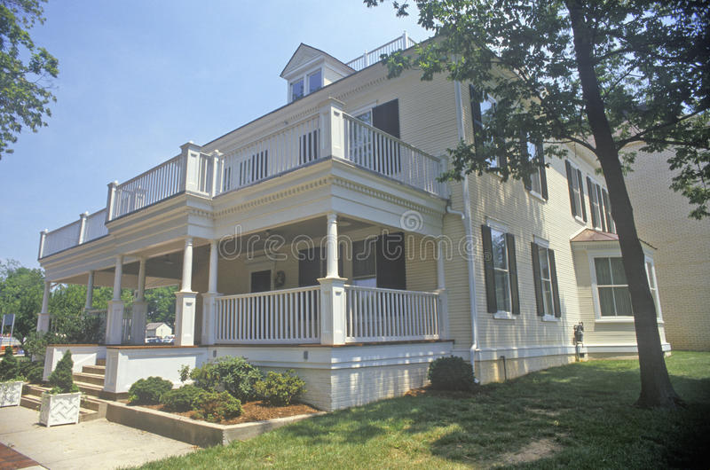 Gaithersburgstadhuis, Maryland royalty-vrije stock foto's
