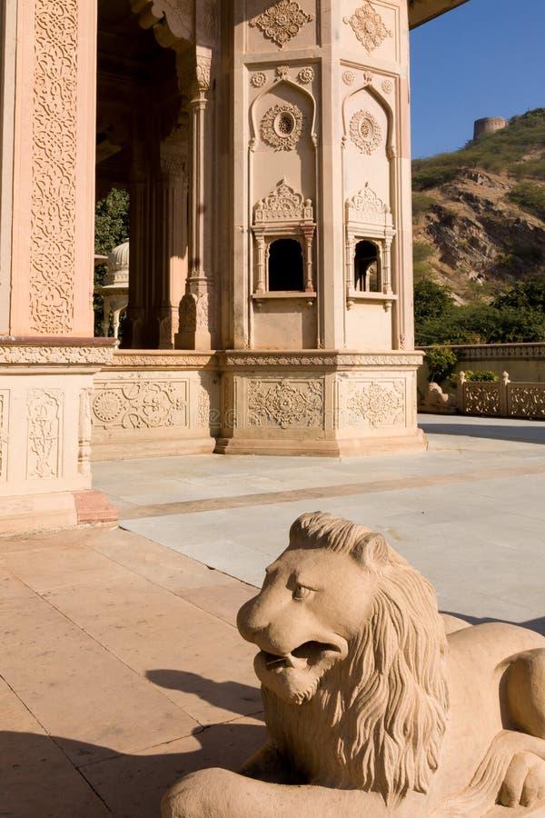 Gaitor real, Jaipur, Rajasthán fotografía de archivo