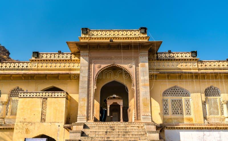 Gaitor real, un cenotafio en Jaipur - Rajasthán, la India fotos de archivo