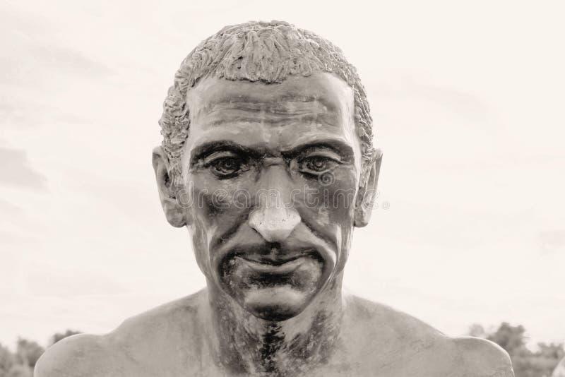 Gaius Julius Caesar Augustus imagem de stock royalty free