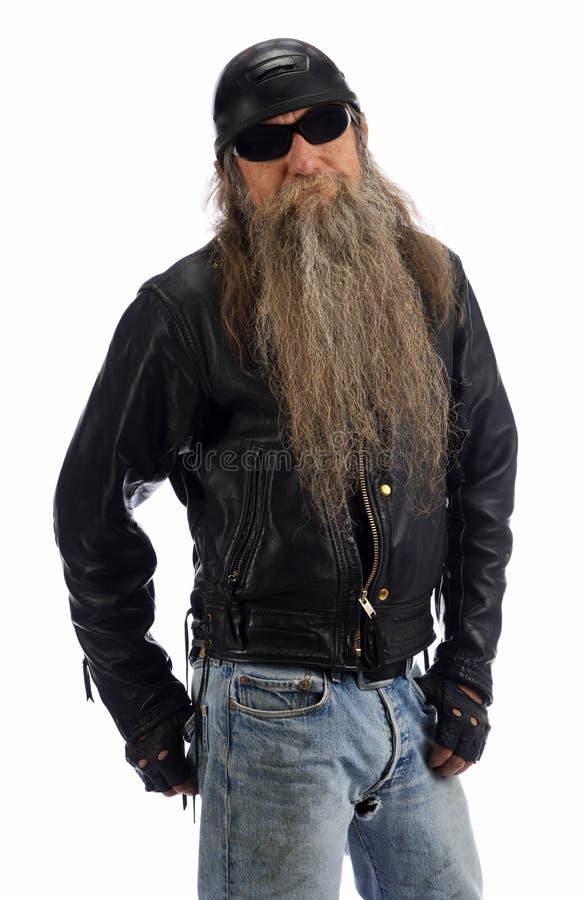 Gajo do motociclista fotos de stock