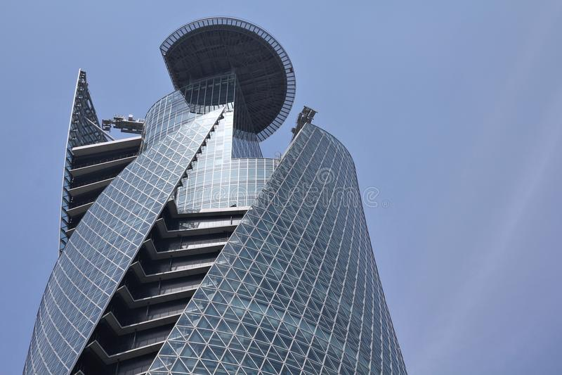 gakuen模式螺旋塔 免版税图库摄影
