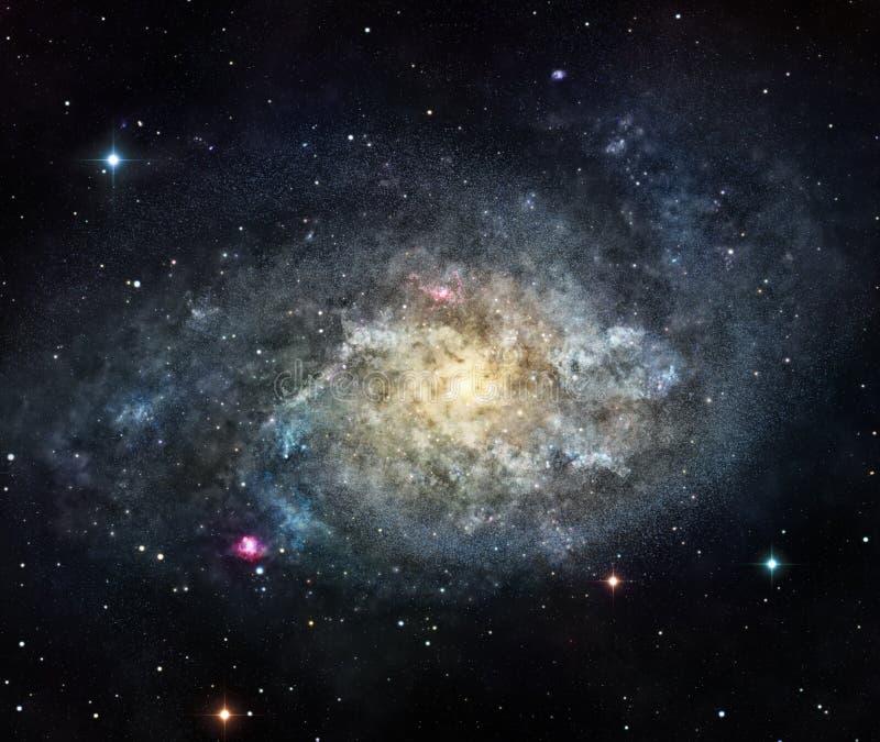 A galáxia ilustração do vetor