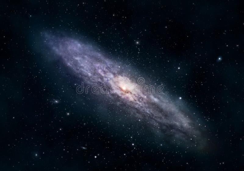 Galáxia circular ilustração stock
