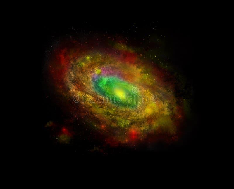 Galáxia de Spyral ilustração do vetor