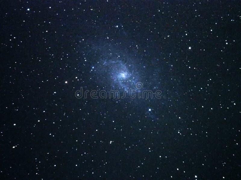 Galáxia de Triangulum imagem de stock royalty free