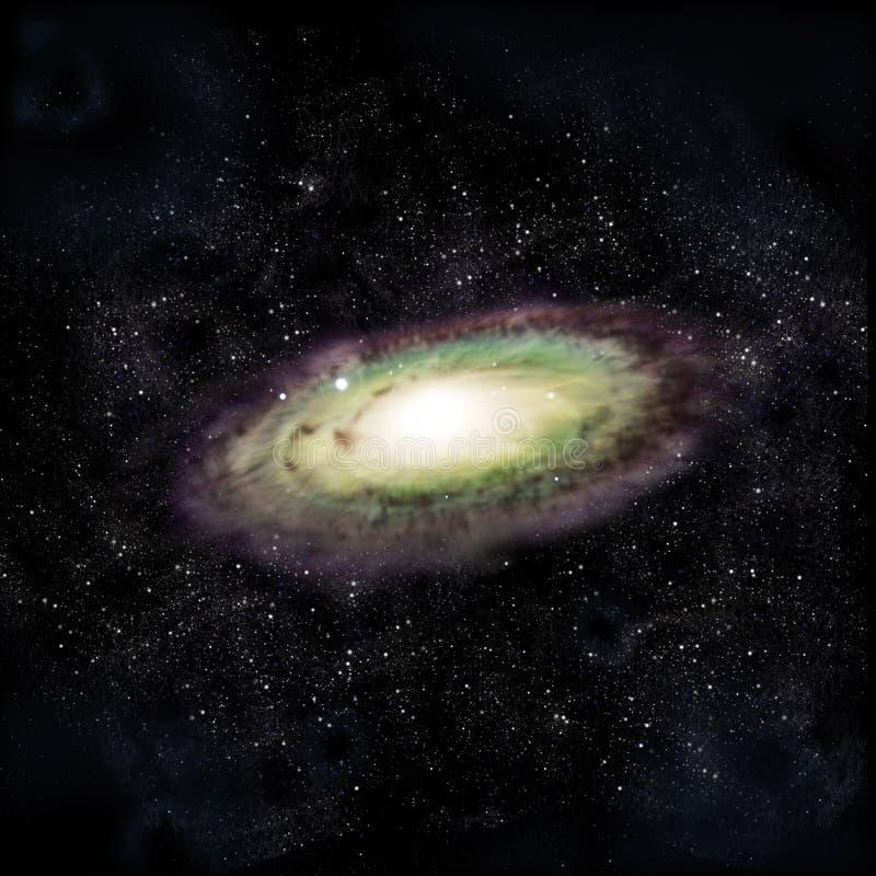 Galáxia do Andromeda ilustração do vetor
