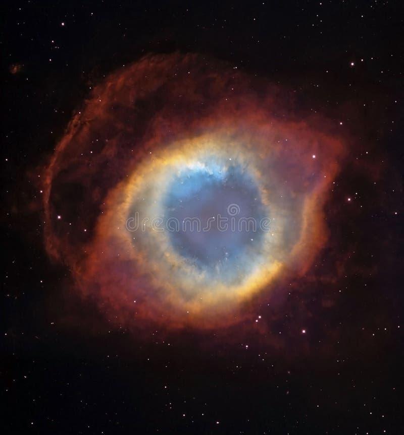 Galáxia do olho ilustração stock