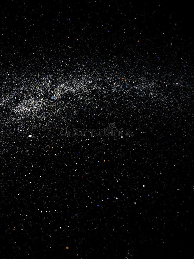 Galáxia e universo ilustração do vetor