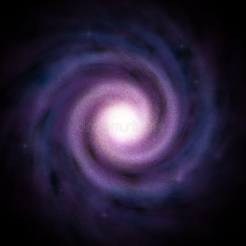 Galáxia espiral 4 fotos de stock royalty free
