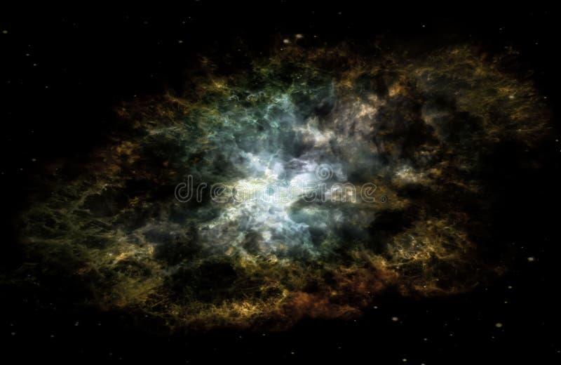 Galáxia estrangeira da fantasia imagens de stock royalty free