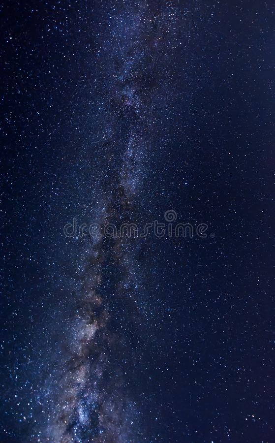 Galáxia no céu imagens de stock royalty free