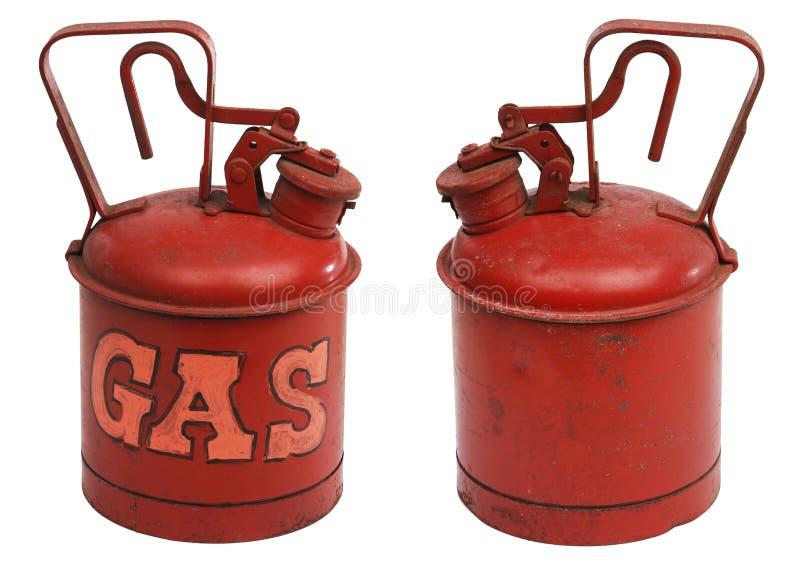 Galão do gás fotografia de stock