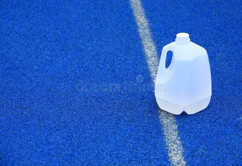 Galão plástico da água foto de stock royalty free