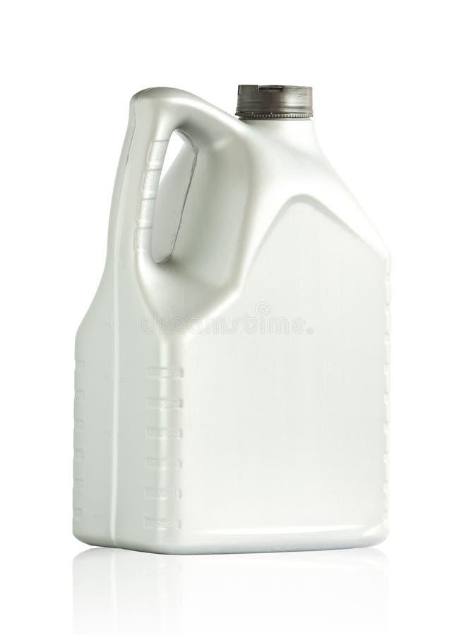 Galão plástico do frasco 6 litros fotos de stock