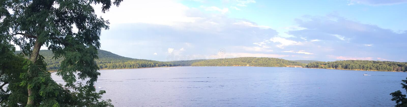 Galène de lac, parc de vallée de paix images stock