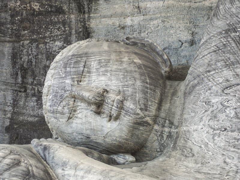 Gal的Vihara菩萨 免版税库存照片