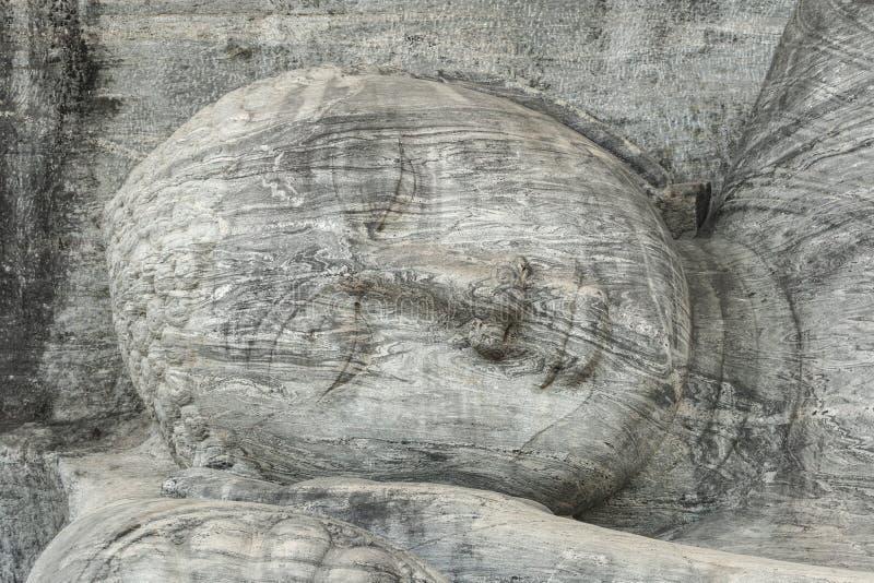 Gal的Vihara菩萨 免版税库存图片