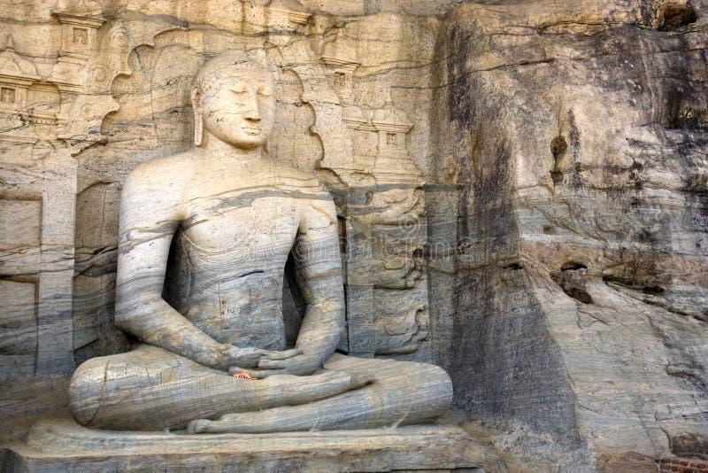 gal lanka polonnaruwa sri vihara 库存图片