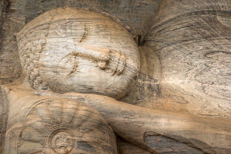 Gal Vihara på staden Polonnaruwa, Sri Lanka för världsarv royaltyfri bild