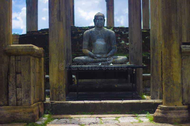 Gal Vihara - Polonnaruwa斯里兰卡 免版税图库摄影
