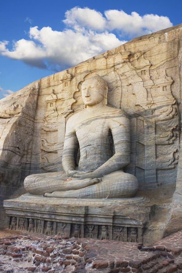 Gal Vihara, Polonnaruwa, Sri Lanka royalty-vrije stock foto's