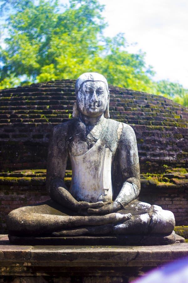 Gal Vihara, Polonnaruwa Sri lanka - zdjęcie stock