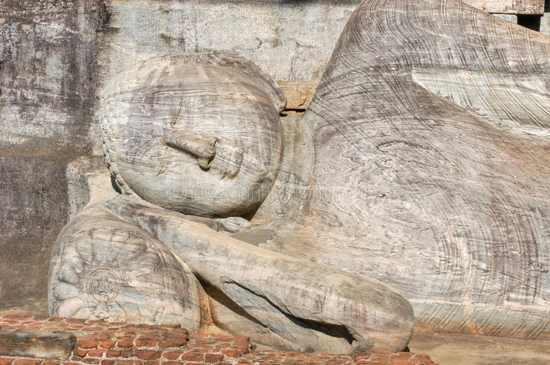 The Gal Vihara in the world heritage city Polonnaruwa, Sri Lanka. The Gal Vihara in the Unesco world heritage city of Polonnaruwa, Sri Lanka royalty free stock photos