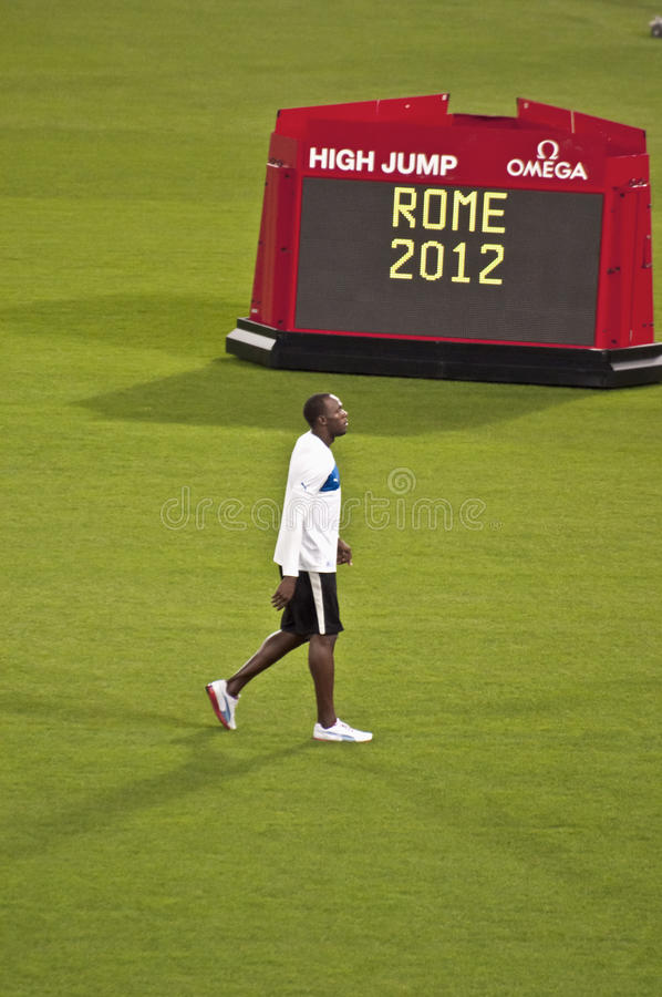 Gala d'or Rome 2012 images stock