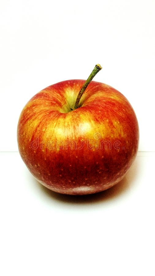 Gala apple from different angle stock photo