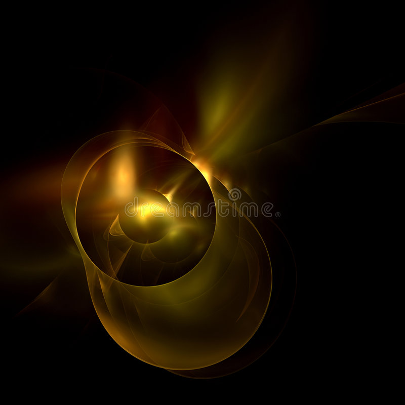 Download Galactic Eclipse Royalty Free Stock Images - Image: 4155329