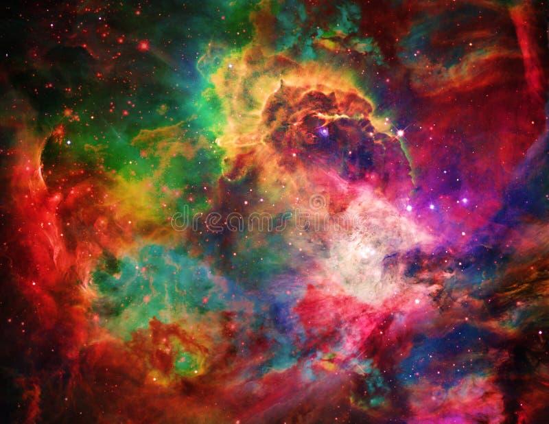 Galactische Ruimte stock illustratie