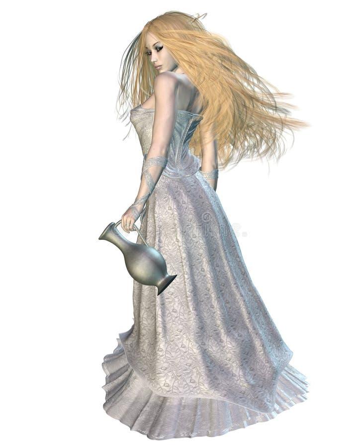 Galadriel - Koningin van de elf royalty-vrije illustratie
