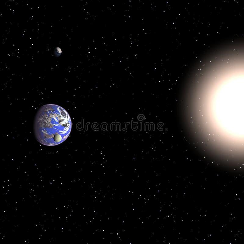 Galaktische Beschaffenheit lizenzfreie abbildung