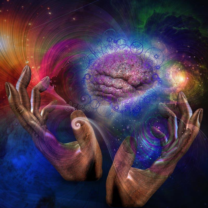 Galaktischer Verstand vektor abbildung