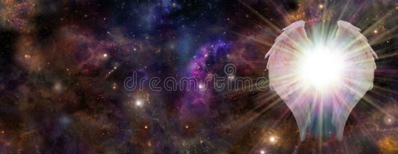 Galaktyczny opiekun obrazy royalty free