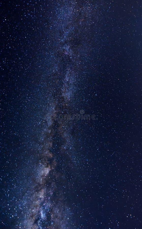 Galaktyka w niebie obrazy royalty free